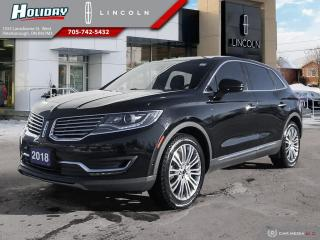 Used 2018 Lincoln MKX Reserve for sale in Peterborough, ON