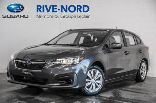 Used 2018 Subaru Impreza Convenience BLUETOOTH+CAM.RECUL+APPLE.CARPLAY for sale in Boisbriand, QC