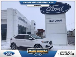 Used 2019 Ford Edge MODÈLE TITANIUM AWD GPS CAMÉRA CUIR TOIT for sale in Roberval, QC