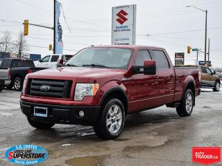 Used 2009 Ford F-150 FX4 Super Crew 4x4 ~Backup Cam ~Leather ~Moonroof for sale in Barrie, ON