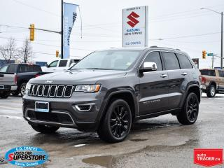 Used 2018 Jeep Grand Cherokee Limited 4x4 ~Nav ~Roof ~Heated Leather Seats/Wheel for sale in Barrie, ON