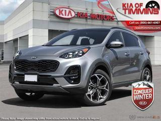 New 2021 Kia Sportage SX AWD  - Sunroof - $242 B/W for sale in Timmins, ON