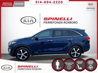 Used 2017 Kia Sorento EX V6 7 PASSAGERS 7 PASSAGERS + CUIR for sale in Montréal, QC
