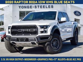 Used 2020 Ford F-150 RAPTOR for sale in Thornhill, ON
