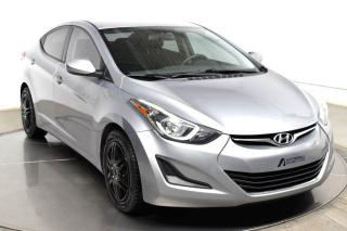 Used 2016 Hyundai Elantra GL A/C BLUETOOTH for sale in Île-Perrot, QC