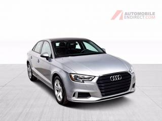 Used 2017 Audi A3 KOMFORT CUIR TOIT MAGS GROS ECRAN for sale in Île-Perrot, QC