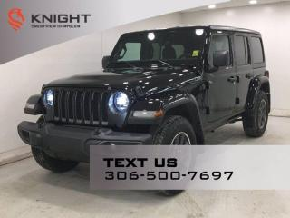 New 2021 Jeep Wrangler Sport 80th Anniversary Unlimited | 2.0L Turbo | Navigation | for sale in Regina, SK