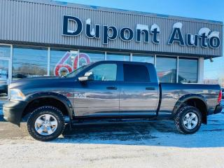 Used 2016 RAM 1500 Tradesman cabine d équipe 4RM 149 po for sale in Alma, QC