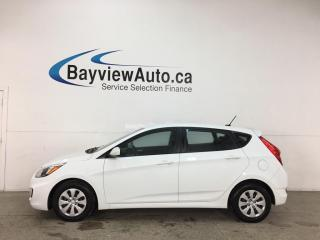 Used 2016 Hyundai Accent GL - AUTO! A/C! CRUISE! PWR GROUP! for sale in Belleville, ON