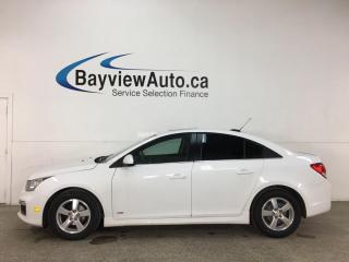 Used 2015 Chevrolet Cruze 1LT - AUTO! SUNROOF! ALLOYS! for sale in Belleville, ON