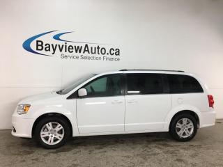 Used 2020 Dodge Grand Caravan Crew - NAV! PWR DOORS + MORE! 14,000KMS! for sale in Belleville, ON