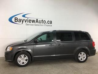 Used 2020 Dodge Grand Caravan Crew - NAV! DVD! 3 ZONE CLIMATE! PWR DOORS + LIFTGATE! + MORE! for sale in Belleville, ON
