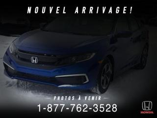 Used 2020 Honda Civic LX + AUTO + DERNIER DEMO DISPO ! for sale in St-Basile-le-Grand, QC