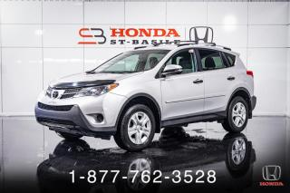 Used 2013 Toyota RAV4 LE + A/C + CRUISE + CAMERA + MAGS + WOW! for sale in St-Basile-le-Grand, QC
