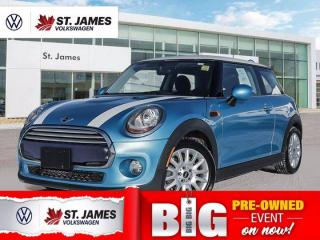 Used 2015 MINI Cooper Hardtop Push to Start, Heated Seats, Backup Camera for sale in Winnipeg, MB