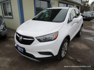 Used 2017 Buick Encore ALL-WHEEL DRIVE PREFERRED EDITION 5 PASSENGER 1.4L - TURBO.. LEATHER TRIM.. TOUCH SCREEN DISPLAY.. BACK-UP CAMERA.. BLUETOOTH SYSTEM.. for sale in Bradford, ON