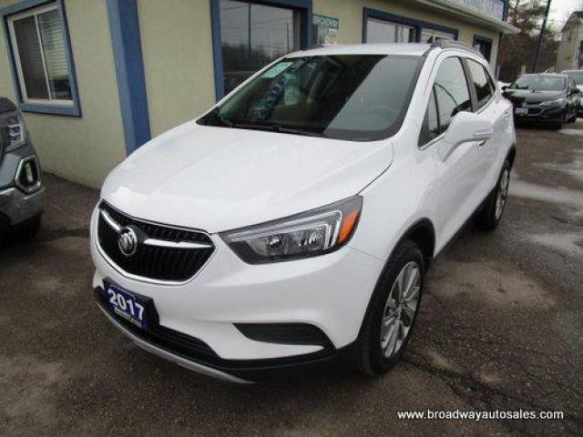 2017 Buick Encore ALL-WHEEL DRIVE PREFERRED EDITION 5 PASSENGER 1.4L - TURBO.. LEATHER TRIM.. TOUCH SCREEN DISPLAY.. BACK-UP CAMERA.. BLUETOOTH SYSTEM..