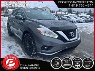 Used 2017 Nissan Murano SV for sale in Rouyn-Noranda, QC