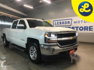 Used 2017 Chevrolet Silverado 1500 LT Crew Cab 4X4 5.3L V8 * Navigation * Leather Heated Seats * 6 Speed Automatic * 6 Passenger * Back Up Camera * Cruise Control * Steering Wheel Contr for sale in Cambridge, ON