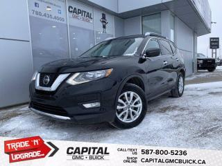 Used 2018 Nissan Rogue SV AWD REMOTE STARTER, HEATED SEATS, BLIND SPOT MONITORING for sale in Edmonton, AB