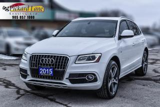 Used 2015 Audi Q5 3.0 TDI Technik TECHNIK! | S-LINE! | 1 OWNER! | ONTARIO VEHICLE!! for sale in Bolton, ON