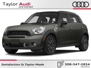 Used 2013 MINI Cooper Countryman Cooper S for sale in Regina, SK