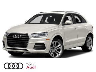 Used 2017 Audi Q3 2.0T Technik for sale in Regina, SK