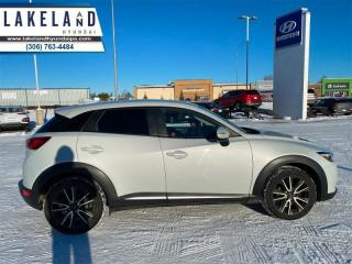 Used 2016 Mazda CX-3 GT  - $157 B/W - Low Mileage for sale in Prince Albert, SK