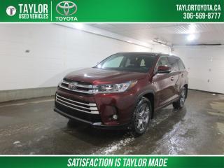 Used 2019 Toyota Highlander LIMITED  for sale in Regina, SK