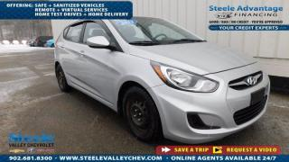 Used 2013 Hyundai Accent GL AUTO A/C LOW KM- LOW PAYMENT!!! for sale in Kentville, NS