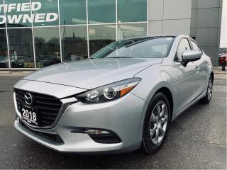 Used 2018 Mazda MAZDA3 GX at REAR CAM / ONE OWNER! for sale in York, ON