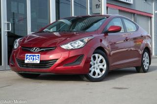 Used 2015 Hyundai Elantra for sale in Chatham, ON