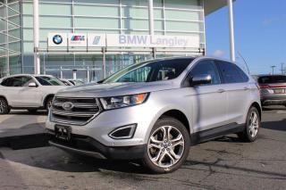Used 2015 Ford Edge Titanium - AWD for sale in Langley, BC
