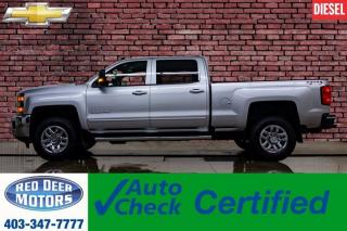 Used 2018 Chevrolet Silverado 3500HD 4x4 Crew Cab LT 6 Passenger Diesel for sale in Red Deer, AB