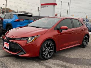 Used 2019 Toyota Corolla Hatchback SE UPGRADE-ALLOYS+HEATED STEERING! for sale in Cobourg, ON