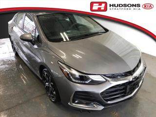 Used 2019 Chevrolet Cruze LT True North Edtn. | RS Package | Sunroof for sale in Stratford, ON
