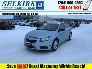 Used 2012 Chevrolet Cruze LS  *W/WINTER TIRES* for sale in Selkirk, MB