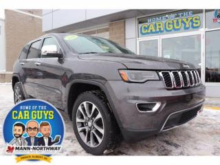 Used 2018 Jeep Grand Cherokee Limited | One Owner, No Accidents. for sale in Prince Albert, SK