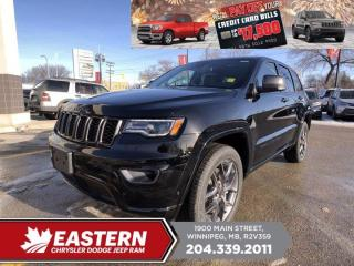 New 2021 Jeep Grand Cherokee 80th Anniversary Edition | Pano Sunroof | for sale in Winnipeg, MB