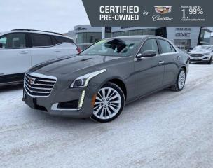 Used 2017 Cadillac CTS Sedan Luxury AWD | CUE w/Navigation | Bose Audio for sale in Winnipeg, MB