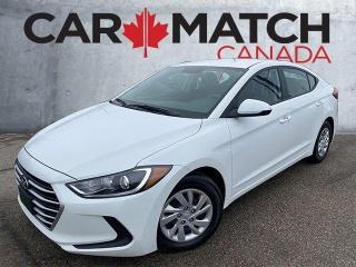 Used 2017 Hyundai Elantra LE / AUTO / NO ACCIDENTS for sale in Cambridge, ON