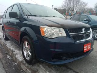 Used 2012 Dodge Grand Caravan SXT-EXTRA CLEAN- 7 SEATS-ECO- AUX- ALLOYS for sale in Scarborough, ON