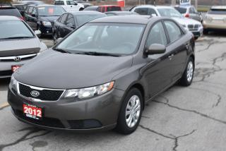 Used 2012 Kia Forte LX Plus for sale in Burlington, ON