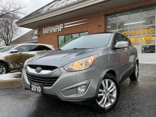 Used 2010 Hyundai Tucson Limited AWD Panoramic Sunroof Heated Seats Certi* for sale in Concord, ON