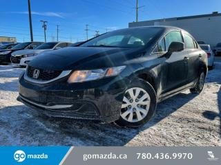 Used 2013 Honda Civic Sdn DX for sale in Edmonton, AB