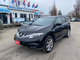 Used 2013 Nissan Murano Platinum-AWD-NAVI-ACCIDENT FREE for sale in Stoney Creek, ON