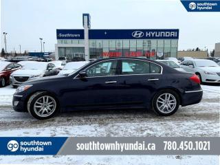 Used 2013 Hyundai Genesis Sedan PREMIUM PKG/BACK UP CAM/SUNROOF/HEATED SEATS for sale in Edmonton, AB