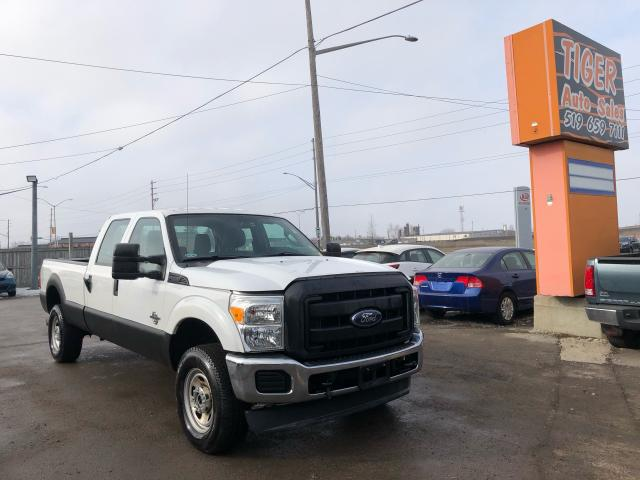 2012 Ford F-350 XL**4X4**6.7L DIESEL**LONG BOX**CREW*ONLY 161KMS