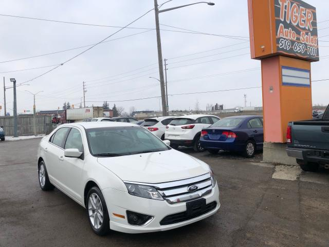 2012 Ford Fusion SEL*AWD*LEATHER*LOADED*ONLY 75KMS*CERTIFIED