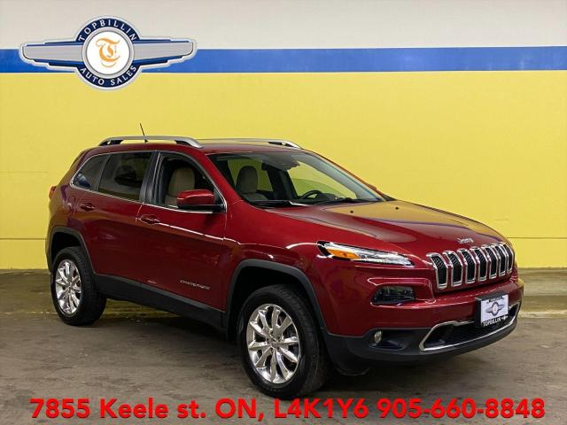 2015 Jeep Cherokee Limited 4WD, Navi, Active Cruise, Blind Spot